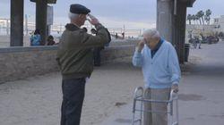 強制収容所を生き延びたユダヤ人、70年ぶりに再会したのは......