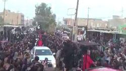 ダーイシュ(イスラム国)がクルド人戦闘員ら21人を檻に入れた映像公開
