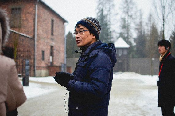 アウシュヴィッツ博物館初の外国人ガイド・中谷剛さん「タブーに立ち向かうのは戦争を経験していない世代」