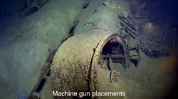 戦艦武蔵の新たな動画を公開 艦橋や蒸気タービンなど