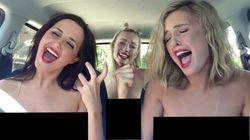 美女3人トリオがビートルズ、プレスリー、クイーンをコスプレで......(動画)