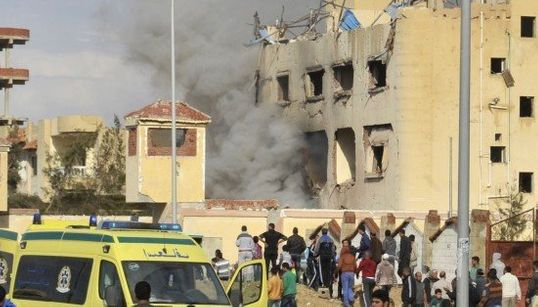 ダーイシュ(イスラム国)、エジプトで連続テロ 12人死亡