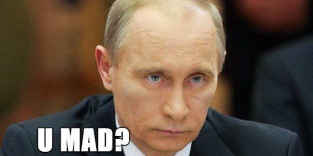 ロシアがネット上にあふれるセレブのネタ画像を違法にした。これ本当。