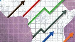 一次産品が牽引したアフリカの経済成長期は終わり、成長率は減速へ