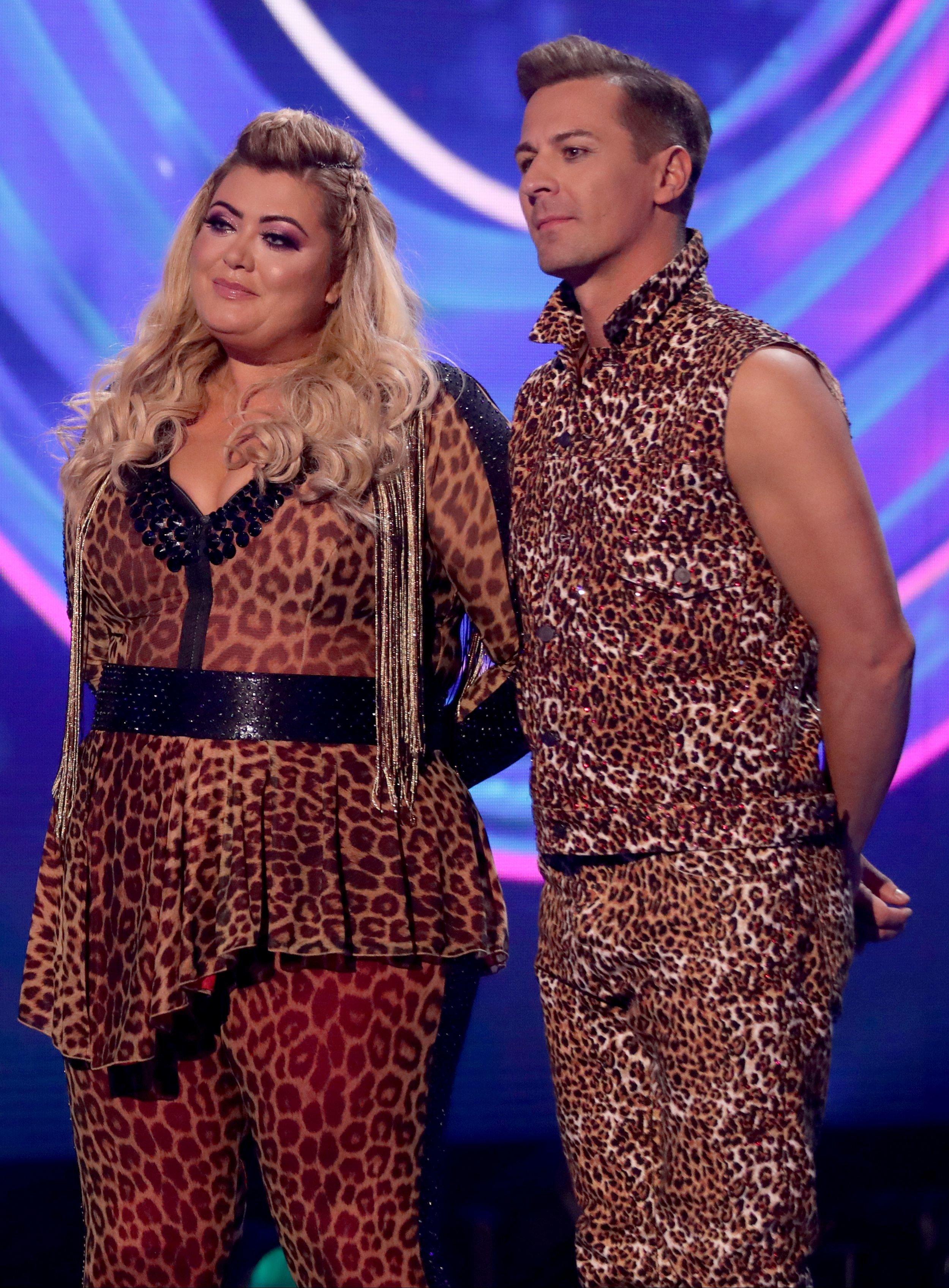 Gemma Collins and Matt