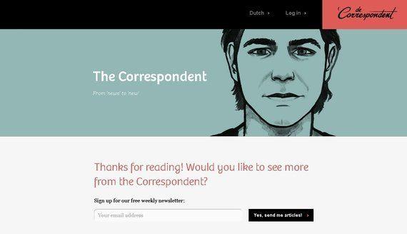「コレスポンデント」会話化し、マーケティング化するクラウドファンディング・ジャーナリズム