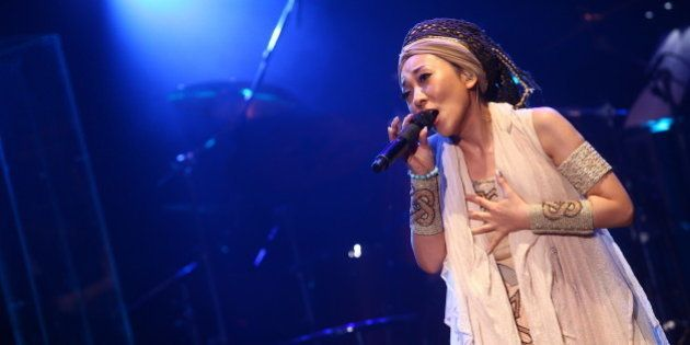 TAIWAN, CHINA - June 29: (CHINA MAINLAND OUT) Japanese singer MISIA held concert on Saturday June 29,...