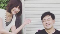 『わにとかげぎす』実写ドラマ化 くりぃむ有田哲平&本田翼が仲良し2ショットを投稿
