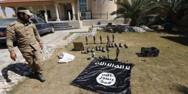 ティクリートを空爆 アメリカ主導の有志連合がイラク軍を支援
