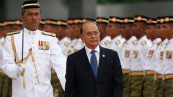 ミャンマー、民主主義国家への道のりは 大統領語る