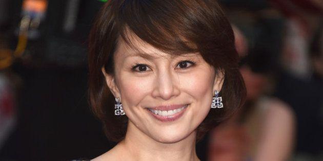 LONDON, ENGLAND - APRIL 26: Ryoko Yonekura arrives for UK film premiere 'Captain America: Civil War'...