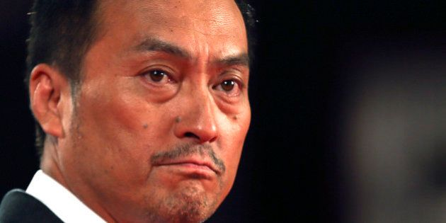 Cast member Ken Watanabe is pictured during the red carpet for the