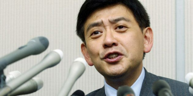 JAPAN - JUNE 05: Fund manager Yoshiaki Murakami speaks during a news conference in Tokyo, Japan on Monday,...