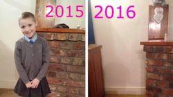 「1年前、ここにいた娘はもういない」ママが新学期に写真を投稿した理由(画像)