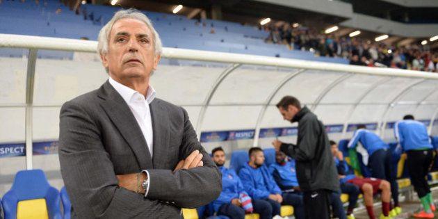 LVIV, UKRAINE - SEPTEMBER 18:Vahid Halilhodzic, head coach of Trabzonspor poses during UEFA Europa League...