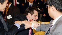 【駐韓米大使襲撃】韓国内にはびこる「対立意見封じ込め」の雰囲気も影響か