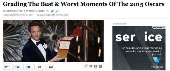 【ニュースで学ぶ英語】2015年アカデミー賞、最高と最低の瞬間
