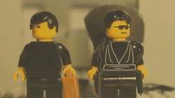 レゴで「マトリックス」の名場面を再現したら、神の域に達してしまった(動画)