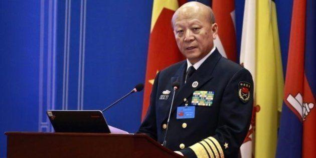 南シナ海でのアメリカの「挑発的行動」に警告 中国海軍司令官