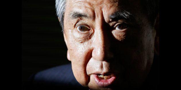 河野洋平氏、安倍首相の安全保障政策は「前のめり、非常に不安」