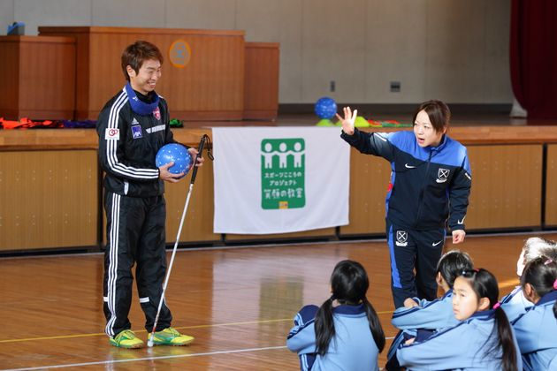 被災したすべての子どもたちに未来を。スポーツ選手が「夢先生」として教壇に立つ「笑顔の教室」