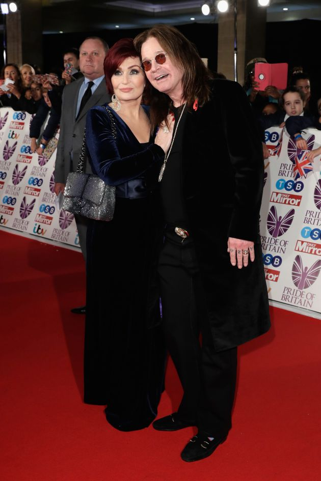 Sharon and Ozzy Osbourne, pictured together in
