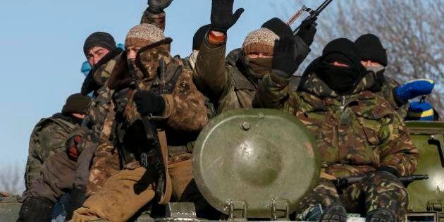 ウクライナ停戦合意守られず 東部要衝デバリツェボ、親ロ派がほぼ掌握