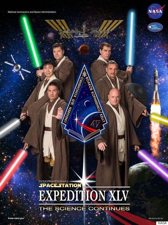 「ジェダイの騎士」は宇宙飛行士? NASAのポスターが「スター・ウォーズ」に(画像)