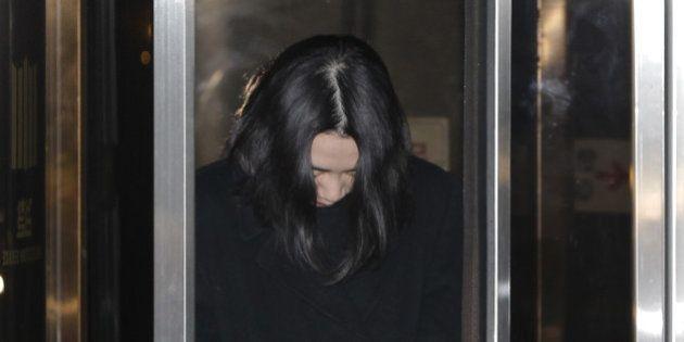 SEOUL, SOUTH KOREA - DECEMBER 30: Former Korean Air Lines Co. Vice President Cho Hyun-Ah, leaves the...