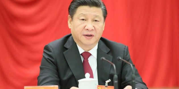 BEIJING- OCTOBER 29: Chinese President Xi Jinping, who is also general secretary of the Communist Party...