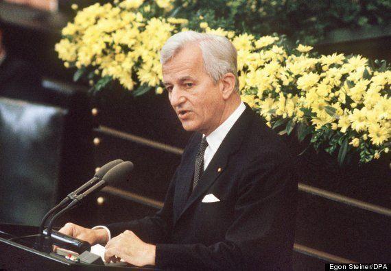 ワイツゼッカー・元ドイツ大統領死去 「過去に目を閉ざす者は、現在にも盲目になる」演説
