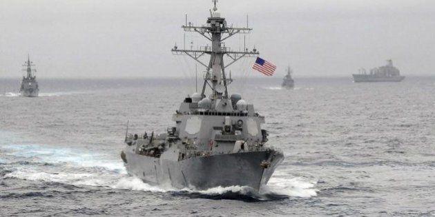 【南シナ海】アメリカ、艦船の警戒活動を定例化へ 中国は抗議