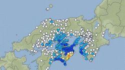 【地震】徳島県南部で震度5強