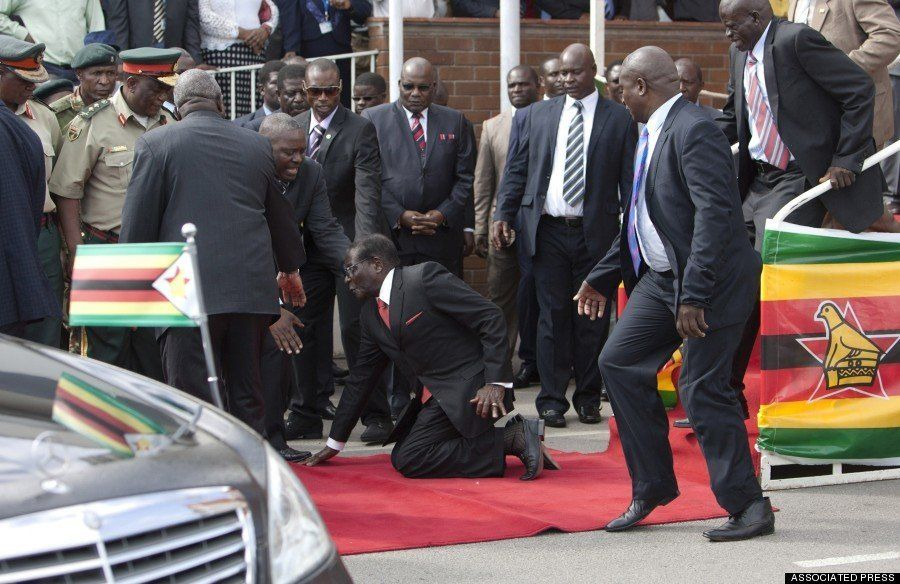 独裁国家ジンバブエが削除を命令した、いわくつきの写真がこれだ(画像)