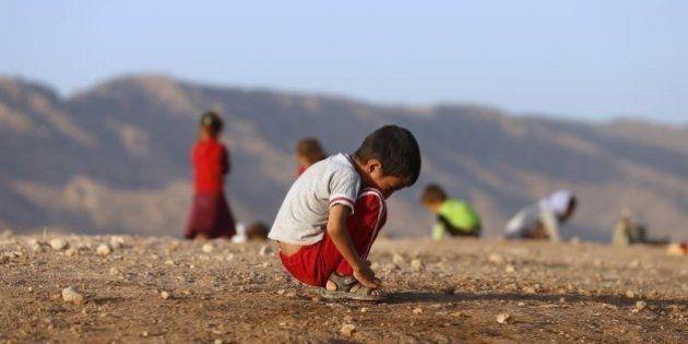 イスラム国、イラクで子供を殺害 人身売買や生き埋めも