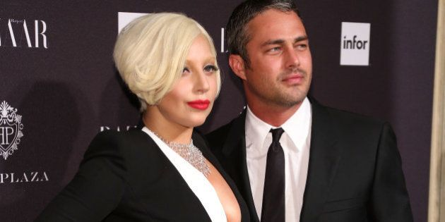 NEW YORK, NY - SEPTEMBER 05: Lady Gaga and Taylor Kinney attend Harper's Bazaar ICONS Celebration at...