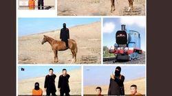 【イスラム国】湯川遥菜さんらの動画のコラージュが拡散 海外から批判も