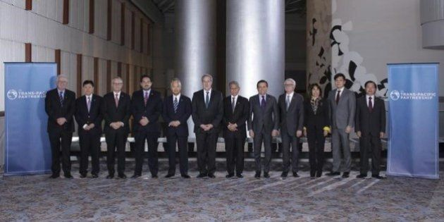TPP大筋合意 巨大自由貿易圏誕生、為替政策でも協力