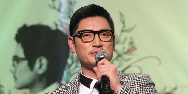 SEOUL, SOUTH KOREA - OCTOBER 22: Bobby-Kim speaks during his 4th album 'Mirror' showcase at The Riverside...