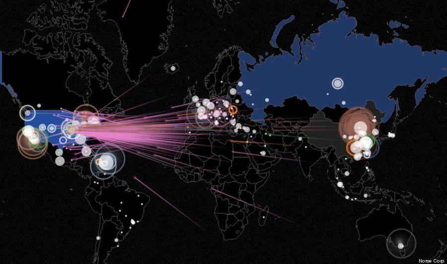 サイバー戦争が今どうなってるかは、ひと目でわかる【画像】