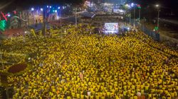 マレーシアの反政府デモに2万5000人、マハティール元首相も参加