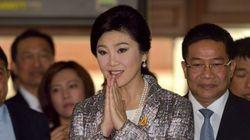 インラック前首相の弾劾可決 タイ、政治活動5年間禁止