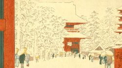 歌川広重が描いた冬の江戸【画像集】
