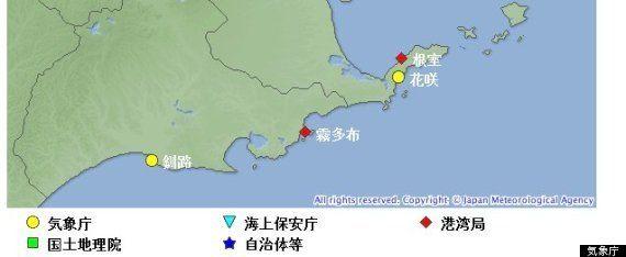 根室が高潮で冠水、漁船が道路に打ち上げられる 18日も列島大荒れ【動画】