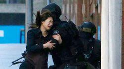 シドニー立てこもり事件、人質5人脱出