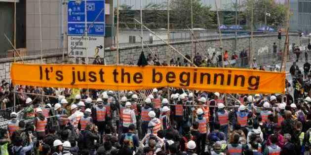 【香港デモ】道路占拠が事実上終結 強制排除で209人逮捕(画像集)