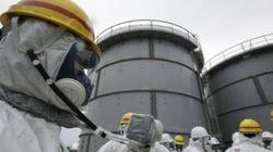 福島第一原発、高濃度の汚染水を海に流出