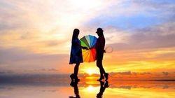 虹色の世界が、あまりに幻想的で美しい(画像)