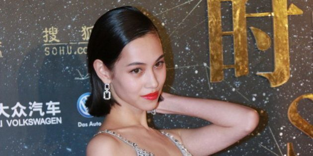 BEIJING, CHINA - DECEMBER 23: (CHINA OUT) Model Kiko Mizuhara attends Sohu Fashion Achievement Awards...