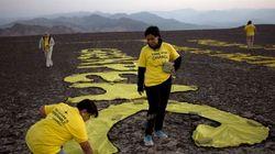 グリーンピースが全面謝罪 ナスカの地上絵への「落書き」